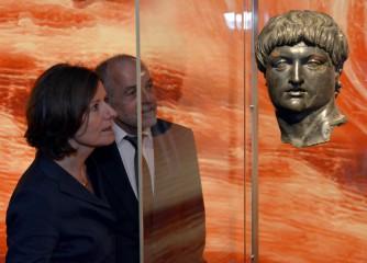 Malu Dreyer eröffnete die große NERO-Ausstellung in Trier