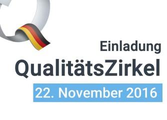 Anmeldeschluss verlängert: QualitätsZirkel Rheinland-Pfalz am 22.11.2016