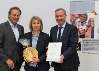 """Lahntal  ist zertifizierter QualitätsBetrieb der Stufe I der """"ServiceQualität Deutschland"""""""
