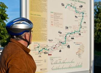 Lahntalradweg erneut vom ADFC mit vier Sternen bewertet