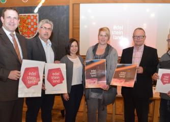 Tourist-Informationen Herrstein und Idar-Oberstein präsentieren die neue touristische Marke EdelSteinLand
