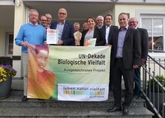 GesundLand Vulkaneifel erhält Auszeichnung als Projekt der UN-Dekade Biologische Vielfalt