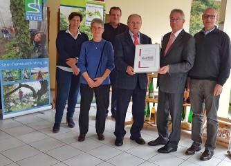 Ortsgemeinde Greimerath seit 60 Jahren Mitglied im Tourismus- und Heilbäderverband Rheinland-Pfalz e.V.