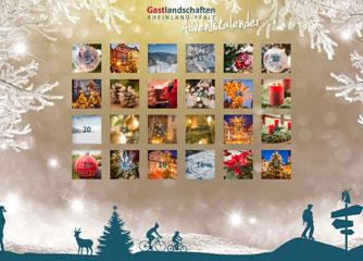 24 Türchen für Rheinland-Pfalz – Adventskalender 2017
