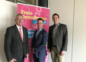THV im Gespräch mit FDP-Landtagsfraktion