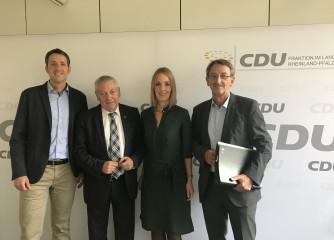 THV im Gespräch mit CDU-Landtagsfraktion
