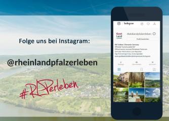 """Neuer Instagram-Kanal """"rheinlandpfalzerleben"""" ist online!"""