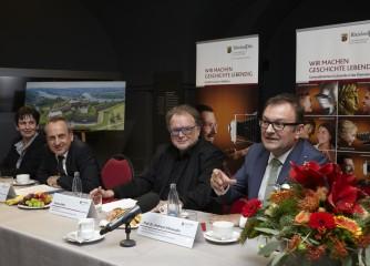 Kulturminister Wolf begrüßt neuen Direktor des Landesmuseums Koblenz