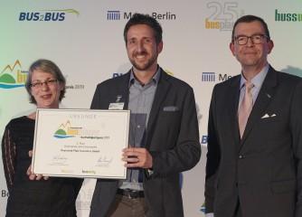 """Rheinland-Pfalz Tourismus GmbH mit Nachhaltigkeitspreis der Fachzeitschrift """"busplaner"""" ausgezeichnet"""