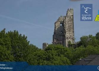 Webcam auf dem Drachenfels ist online