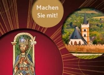 """Mitmachen als """"Originalschauplatz"""" bei der Landesausstellung """"Die Kaiser und die Säulen ihrer Macht"""" 2020"""