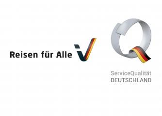 """Terminankündigung: Zertifikatsverleihung """"Reisen für Alle"""" und """"ServiceQualität Deutschland"""" am 25.10.2019 in Bendorf"""