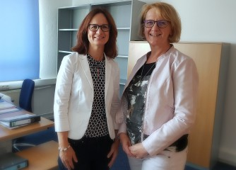 Herzlich Willkommen Nadja Thaller und Annette Klemm!