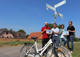 Wettbewerbsfähiges touristisches Radroutennetz für Rheinhessen geplant