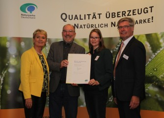 """Natur- und UNESCO Global Geopark Vulkaneifel erhält Auszeichnung in bundesweiter """"Qualitätsoffensive Naturparke"""""""