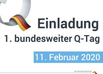 Einladung zum ersten bundesweiten Q-Tag am 11. Februar 2020