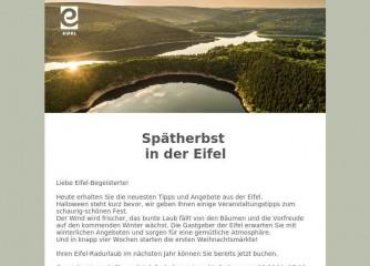Fast 15.000 Eifel-Fans beziehen monatlichen Gäste-Newsletter