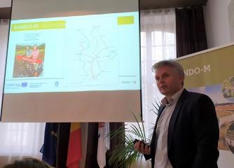 Sitzung der Gesellschafter der EWIV Eifel-Ardennen Marketing in Eupen: INTERREG Projekt RANDO-M in der Umsetzung