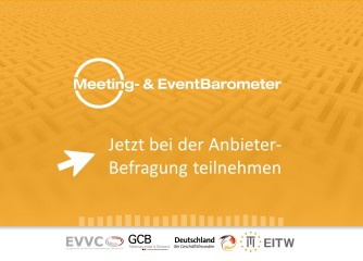 Aufruf: Jetzt am Meeting- & EventBarometer beteiligen