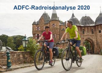 ADFC-Radreiseanalyse 2020: Kurzreisen mit dem Rad steigen kräftig an