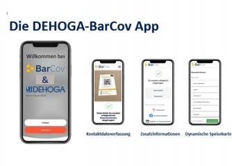 Zum Start der DEHOGA App – kontaktlose Datenerfassung in der Gastronomie