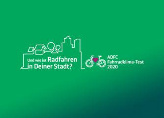 ADFC Fahrradklima-Test 2020 gestartet