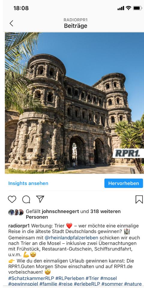 Kurzurlaub nach Stadt Trier- Persona Probst & Brauch