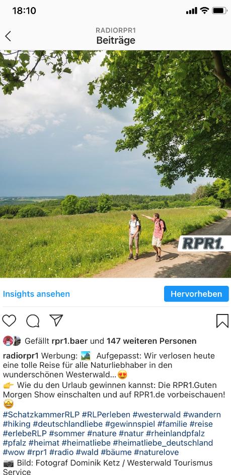 Wanderpauschale Westerwald - Persona Schwab