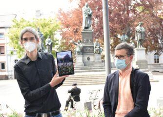 """Die """"Luther-App"""" – mit Augmented-Reality-Technologie zurück ins Worms vor 500 Jahren"""