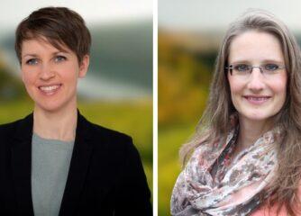 Herzlich Willkommen bei der RPT, Frau Kröber und Frau Schlichter!