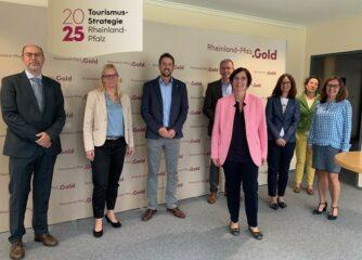 Tourismusstrategie Rheinland-Pfalz 2025 – Sitzung der Steuerungsgruppe unter Leitung von Staatssekretärin Dick-Walther